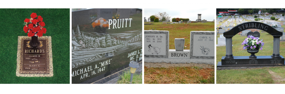 We offer a wide selection of monuments in various styles and materials so you can find the best one for your loved one.